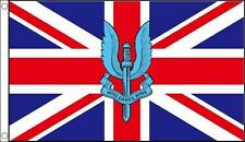 5' x 3' SAS Flag Special Air Service on Union Jack British Army Banner