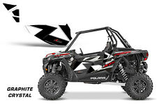 AMR Racing UTV Door Graphics Inserts for Polaris RZR 1000 Dragonfire HiBoy CRYST