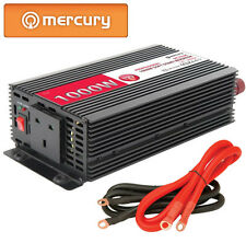 M9P 1000W 12V SOFT START Power INVERTER DC-AC 240Vac UK Plug Car Adapter Caravan