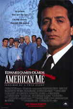 AMERICAN ME Movie POSTER 27x40 B Edward James Olmos William Forsythe Pepe Serna