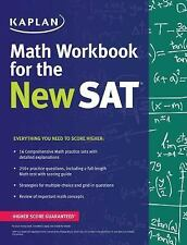 Kaplan Test Prep: Kaplan Math Workbook for the New SAT by Kaplan (2016,...