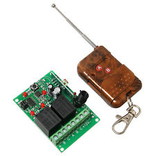 2 channel wireless relay remote control module,2 CH RF Receiver & Transmitter