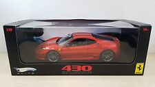 1:18 Hot Wheels Elite Ferrari F430 430 Scuderia in Red diecast car model MIB