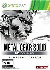 Microsoft XBox 360 Game METAL GEAR SOLID HD COLLECTION