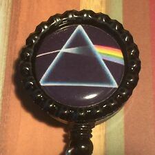 Retractable Pink Floyd Alligator Clip ID Name Reel Badge Holder Pull Lanyard
