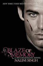 Blaze of Memory: The Psy-Changeling Series, Nalini Singh, New