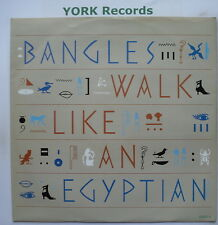 "BANGLES - Walk Like An Egyptian - Excellent Condition 12"" Single CBS 650071 6"