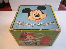 VINTAGE WALT DISNEY STACKING 10 BOXES - MICKEY MOUSE, DONALD DUCK & MORE - BN-4