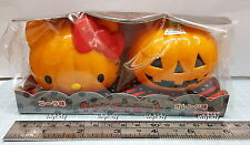 Sanrio Hello Kitty Halloween Pumpkin Container Japan Limit
