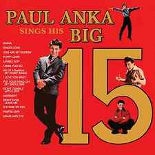 Paul Anka – Paul Anka Sings His Big 15 CD