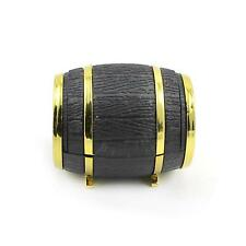 Fashion Women Men Jewelry Velvet Beer Barrel Box New Rings Earrings Display Case