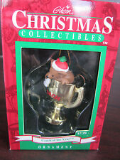 GIBSON Coach Of The Year MOUSE In TROPHY CHRISTMAS ORNAMENT NEW In BOX
