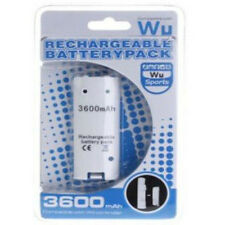 Nintendo Wii Remote Controller 3600mAh Rechargeable Battery Pack