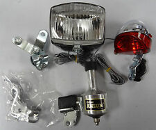 Generator Dynamo Light Set Vintage Anlun brand for Bikes 6V 3W Front & Rear