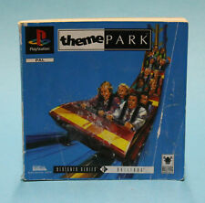 INSTRUCTION BOOKLET/MANUAL ONLY FOR THEME PARK PS1 (NO GAME) ⭐OZ SELLER⭐ !!!