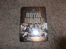 ROYAL RUMBLE 2008 wwe EXCLUSIVE TIN dvd BRAND NEW wrestling SHIP WORLDWIDE
