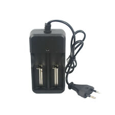 Dual-slot 26650 18650 14500 10440 Charger EU Plug 3.7V Li-ion Battery Charger