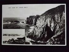 OLD POSTCARD - WHY STOP AT LANDS END? USED 1955