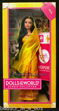 India Barbie Doll Dolls of the World Indian Hindu Designer Linda Kyaw Bollywood""