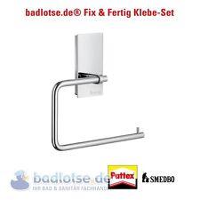 SMEDBO POOL WC-Papierhalter Rollenhalter ZK341 Klebe-Set Montage ohne Bohren