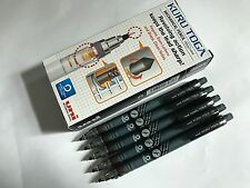 Uni Kuru Toga 0.5mm mechanical pencil M5-450T Black Barrel x 10 pcs