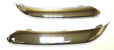 Chrysler 300C 2005-2010 Front Bumper Chrome Trim Moulding one set  without holes
