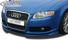 Frontspoiler VARIO-X AUDI A4 8E B7 (S-Line Frontstoßstange) Frontlippe Front Ans
