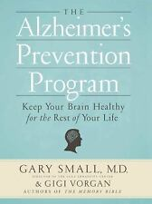 The Alzheimer's Prevention Program : Keep Your Brain Healthy Paperback