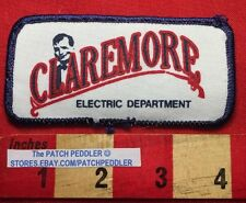 Vtg WIL ROGERS Patch - Claremore Oklahoma Electric Department 62K2