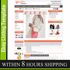 Ebay Store Design & Auction Listing Template Professional Dynamic Listing Pack