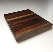 """12"""" x 8"""" x 1.5"""" Walnut Wood Butcher Block Cutting Board w/Rubber Feet"""