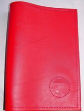 Alcoholics Anonymous AA Big Book Red Cover with Medallion Holder Token