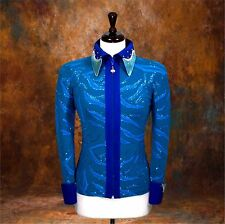 2X-SMALL Showmanship Pleasure Horsemanship Show Jacket Shirt Rodeo Queen Western