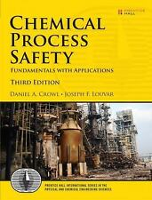 Chemical Process Safety by Crowl, Louvar 3rd International Softcover Ed Same Bk