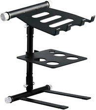 Adjustable DJ Laptop Stand with Tray