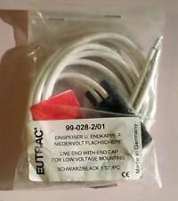 Eutrac 12V NV-Stromschienen Einspeisung mit Kabel schwarz 99-028-2 neu MwSt