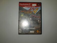 PLAYSTATION2  ATV4 OFFROAD FURY GREATEST HITS  USED UNTESTED