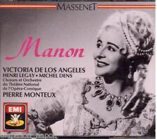 Massenet: Manon / Monteaux, De Los Angeles, Legay, Dens - CD Emi