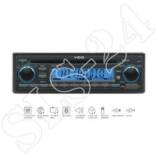 VDO cd726ub-bu 24v 24 voltios Bluetooth fm cd aux-en USB mp3 camión camión radio Bus