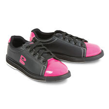 New Brunswick Women's TZone Bowling Shoes Pink/Black Size 8 Universal Soles