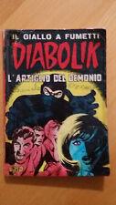 DIABOLIK seconda serie n.9 / 1965  L'artiglio del demonio  ORIGINALE  Sodip