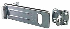 4-1/2'' Heavy Duty Hasp Hinge Locking Zinc Plated 114mm by Ultra Hardware #33503