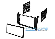 2005-2007 C-CLASS / CLK DOUBLE 2 DIN CAR STEREO RADIO DASH INSTALLATION TRIM KIT