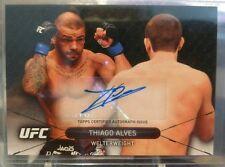 2016 THIAGO ALVES Topps UFC Total Impact Online Exclusive Auto