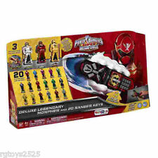 Power Rangers Deluxe Morpher and 20 Legendary Ranger Keys super Megaforce