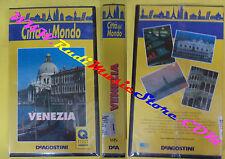 VHS film VENEZIA citta'del mondo 1994 DEAGOSTINI CDM 15 SIGILLATA (F52) no dvd