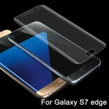 1pc Curved Clear Phone cover Screen Protector For Samsung GALAXY S7Edge Phone H1