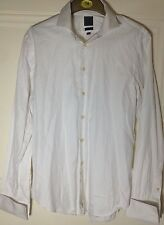 Men's CK Calvin Klein Slim Fit White Shirt Size 41 / 16""
