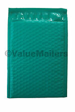 500 #000 ( Green ) Poly Bubble Mailers Envelopes Bags 4x8 Extra Wide Colors 4.5