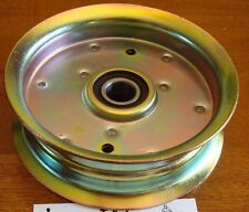 Flat Idler Pulley replaces JOHN DEERE GY20629 GY22082 for L110 and L100 series